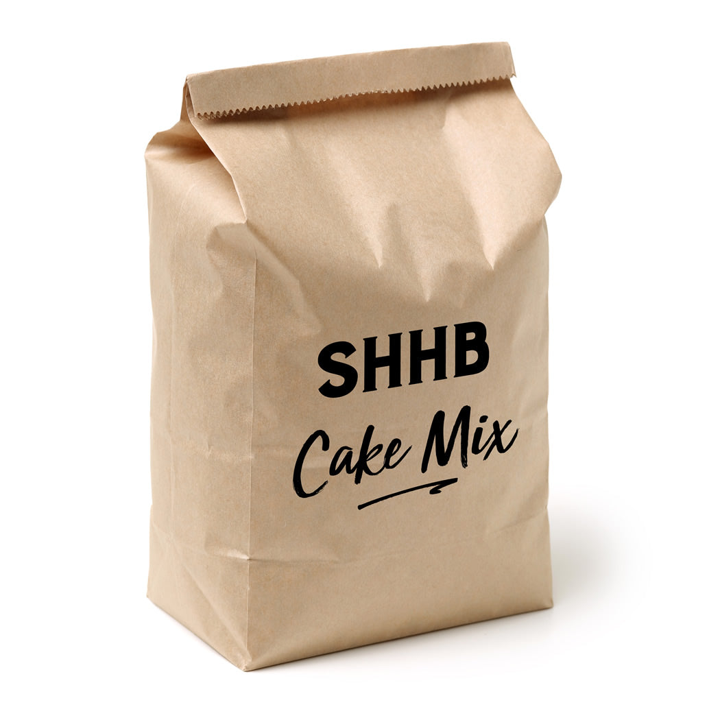 Premium White Mud Cake mix