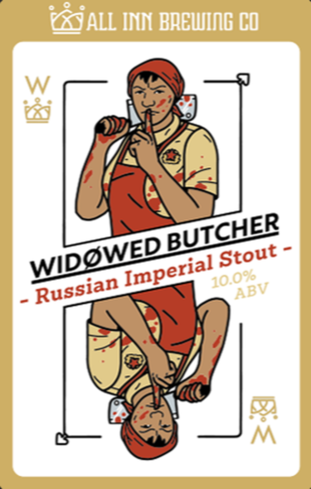 All in Brewing FWK - Widowed Butcher - Russian Imperial Stout