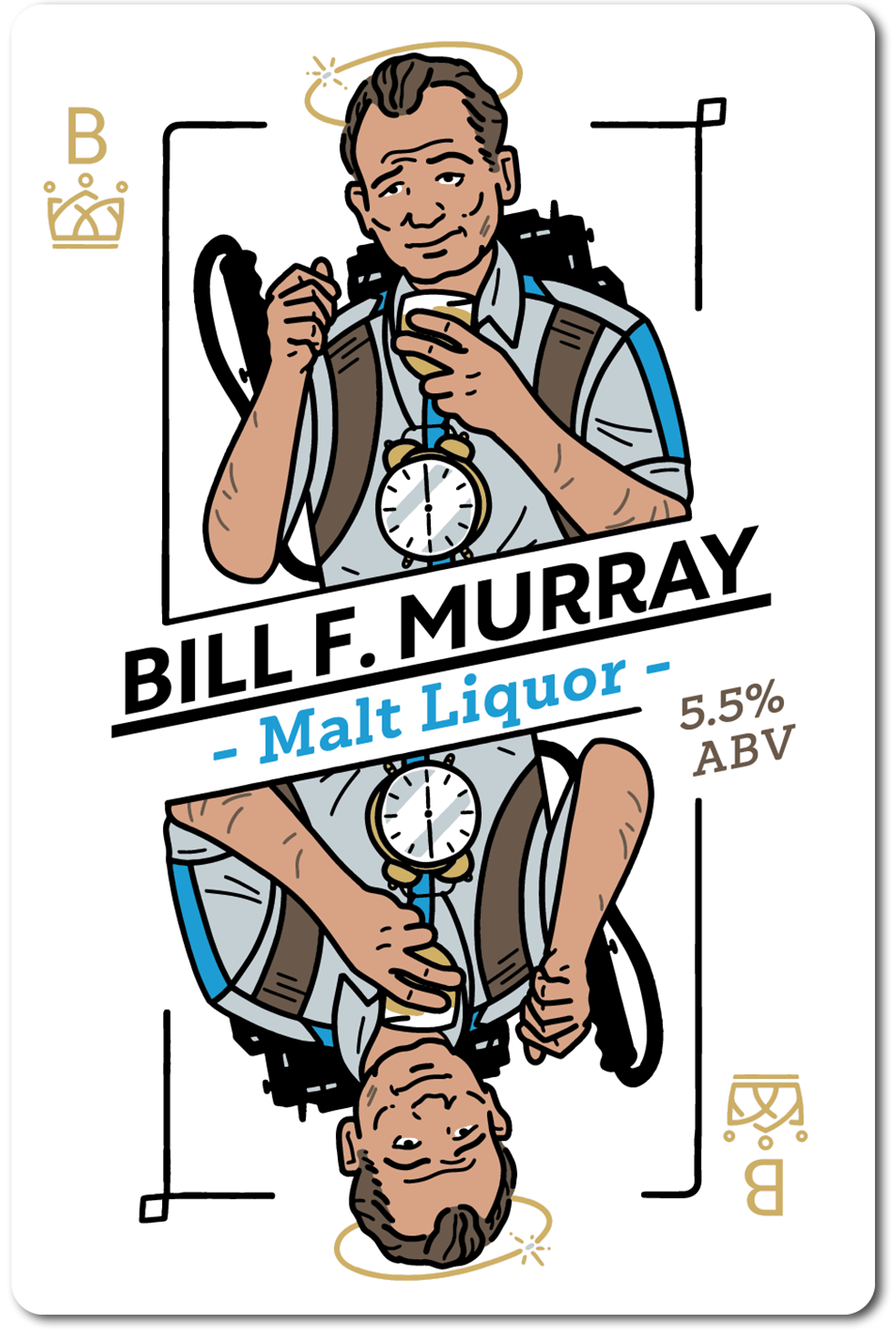 All in Brewing FWK- Bill F Murray - Malt Liquor