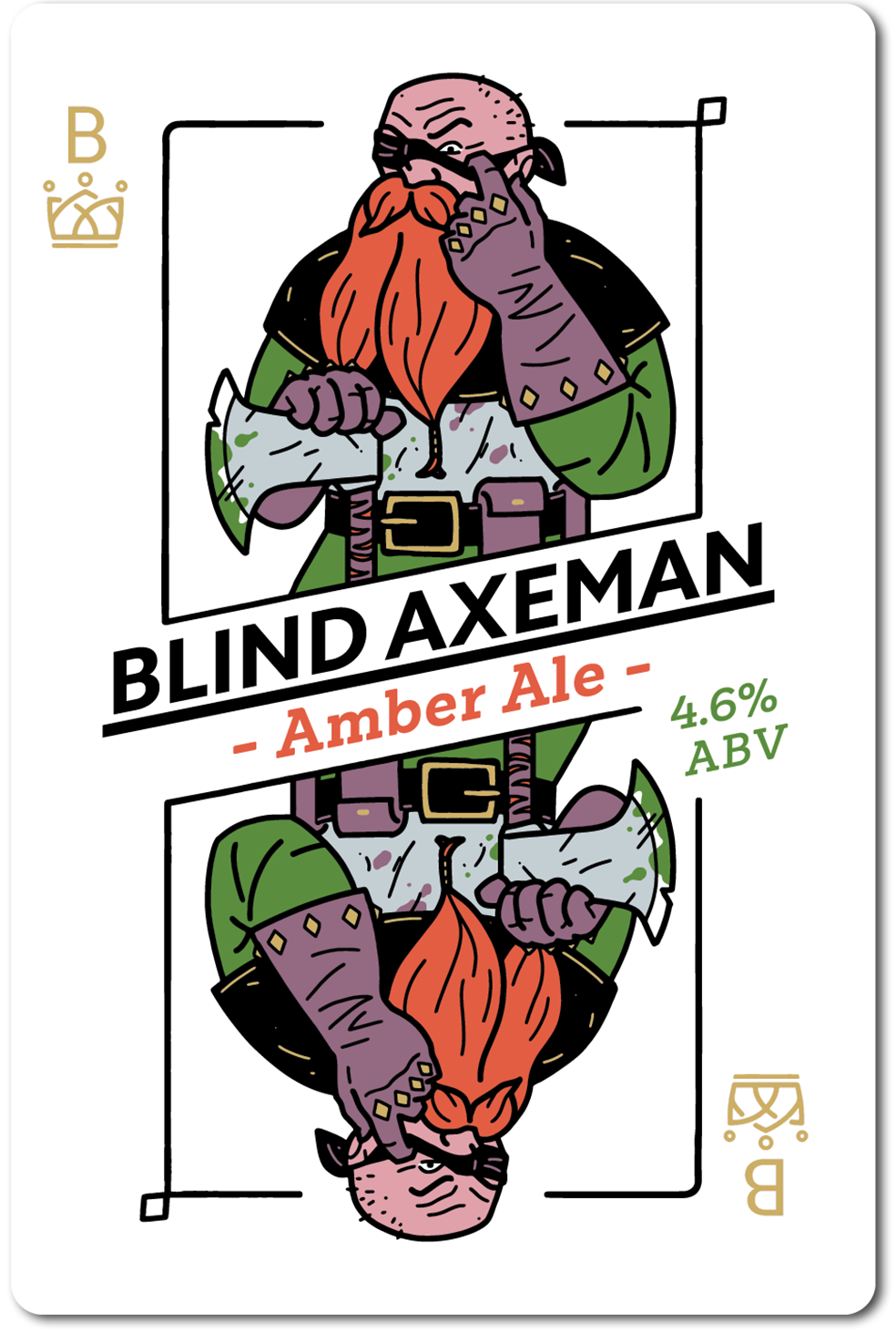 All in Brewing FWK - Blind Axeman - Amber Ale