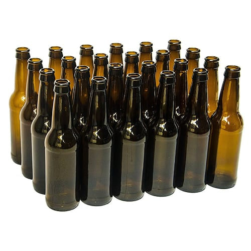 Crown Glass Beer Bottles