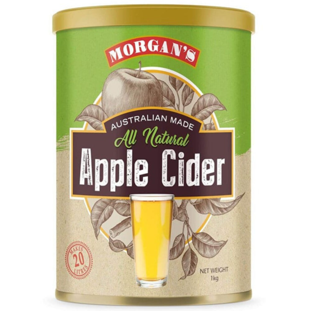 Morgan's All Natural Apple Cider