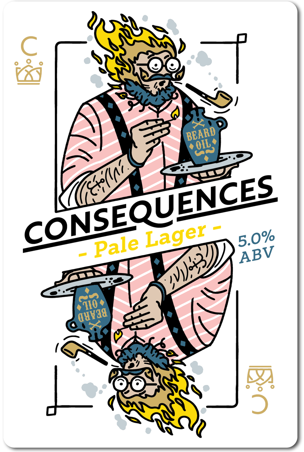 All in Brewing FWK  - Consequences - Pale Lager