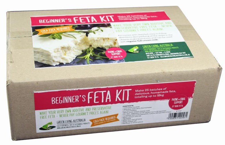 Green Living Feta Cheese Kit