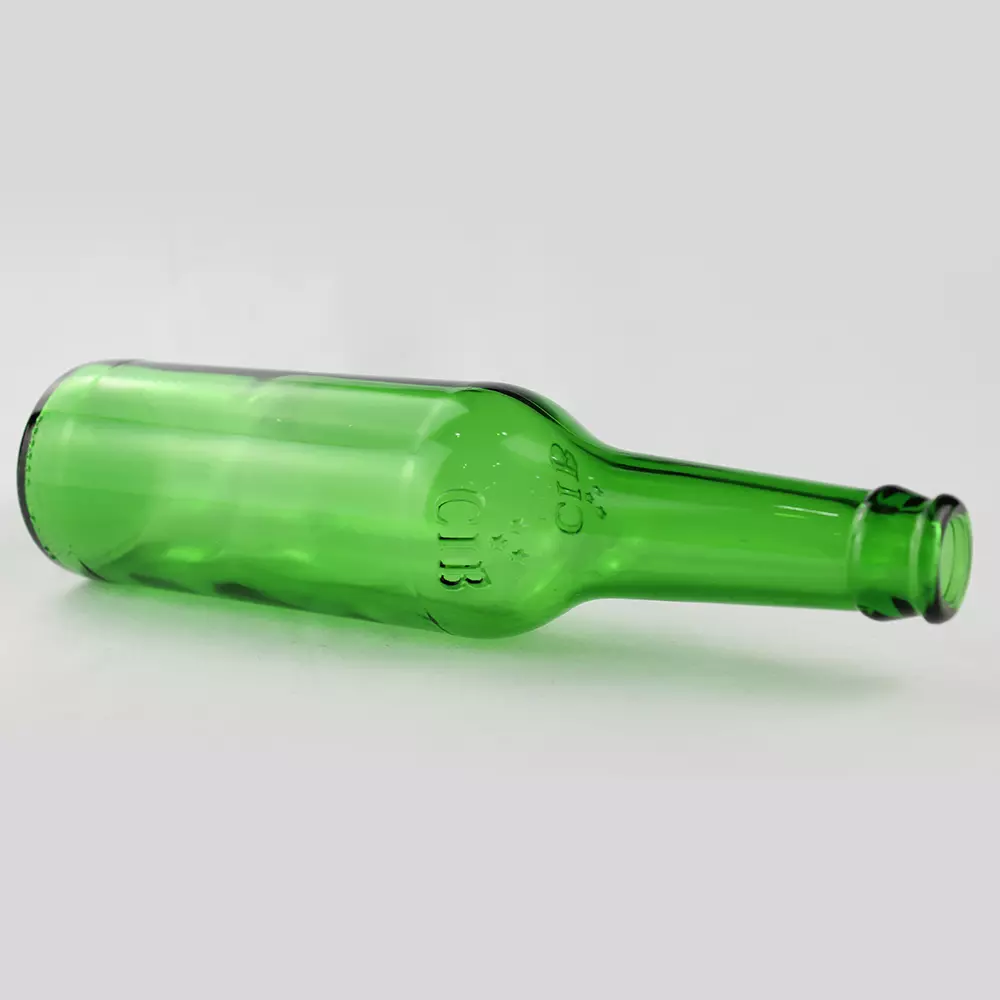 Green 330ml Glass beer Bottles