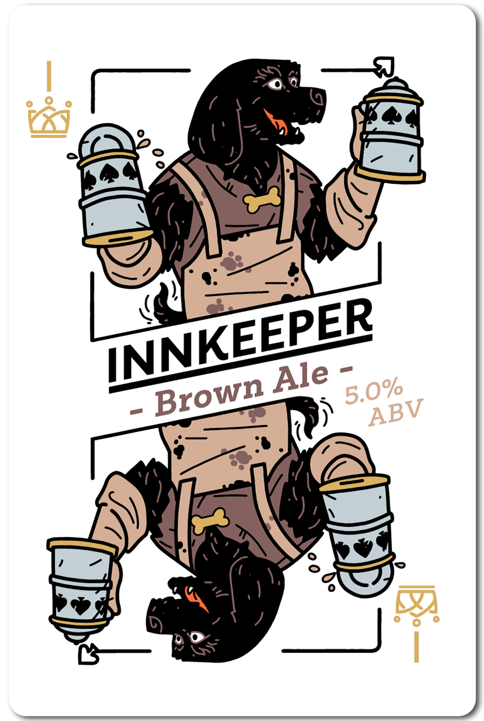 All in Brewing FWK  - Innkeeper - Brown Ale