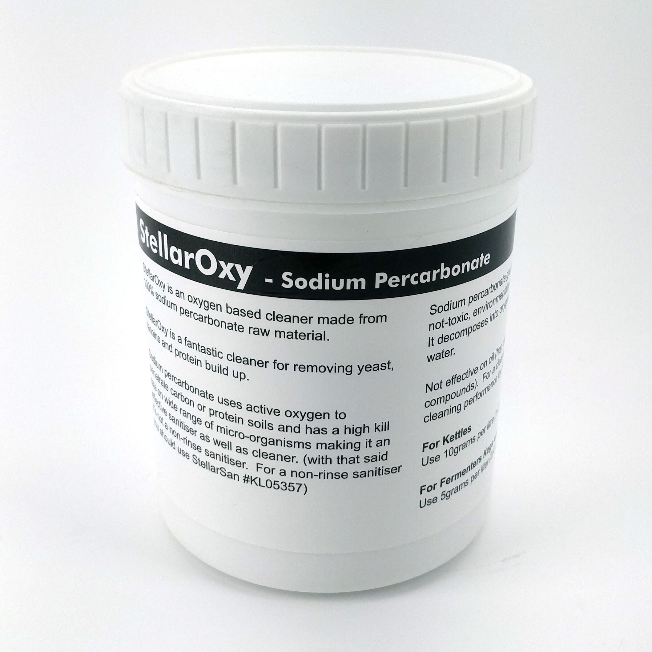 StellarOxy - 100% Sodium Percarbonate