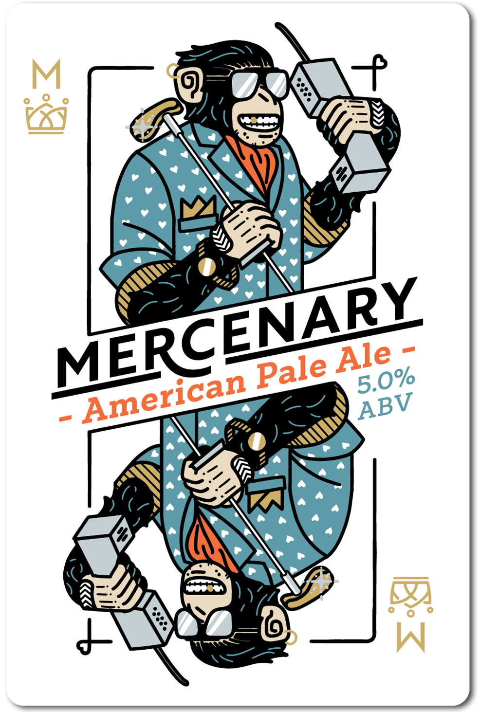 All in Brewing FWK  - Mercenary - American Pale Ale