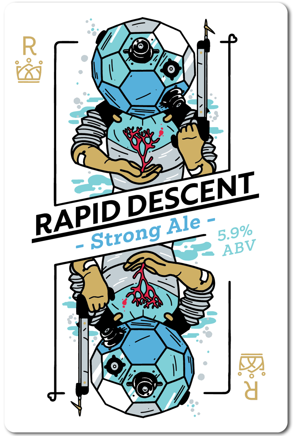All in Brewing FWK  - Rapid Descent- Strong Ale