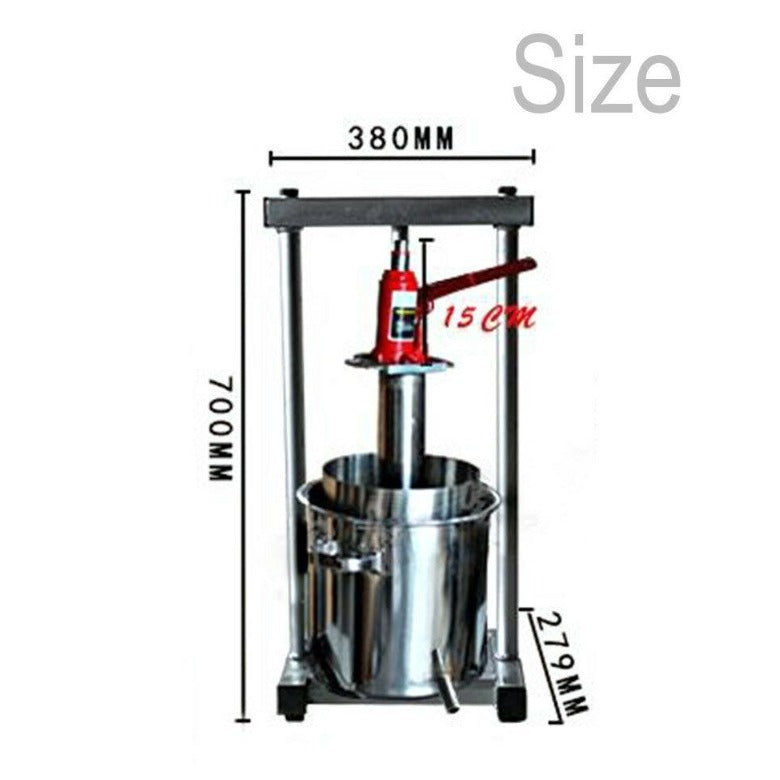 Wine Presses ~ Wooden & Stainless Steel