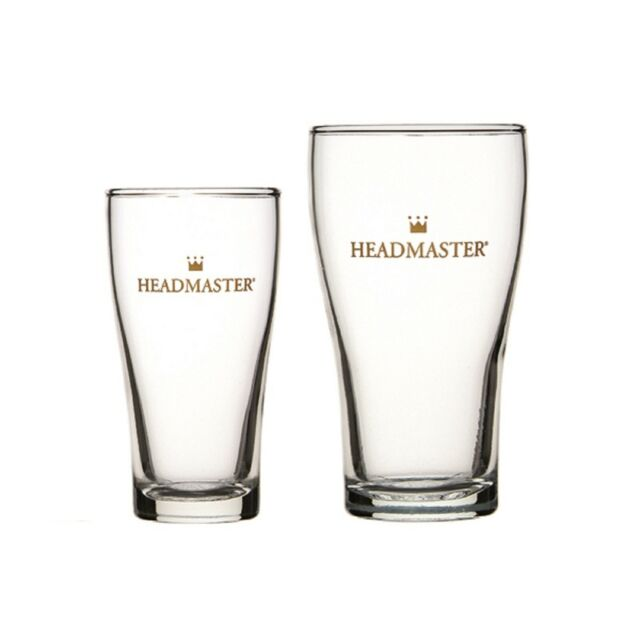 Headmaster Beer Glasses