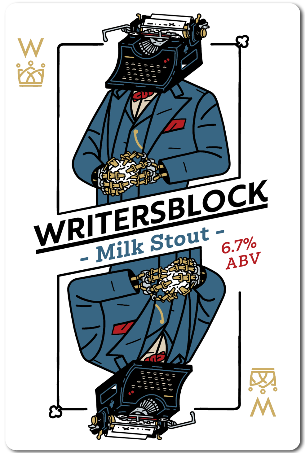 All in Brewing FWK  - Writer's Block - Milk Stout