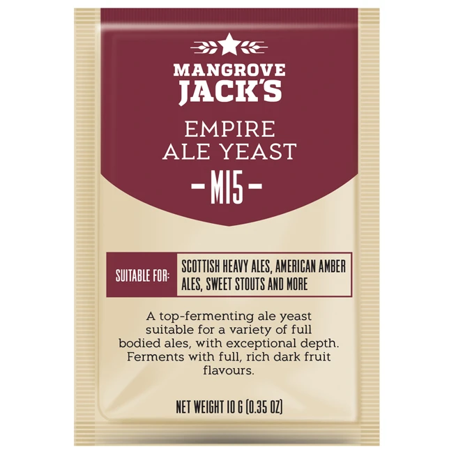 Mangrove Jack Yeast - M15 - Empire Ale