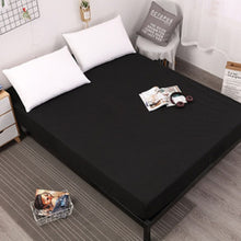Load image into Gallery viewer, New Coming Solid Fitted Sheet On Elastic Band Mattress Cover with  Elastic Rubber Band Printed Bed Sheet Hot Selling Bed Linens