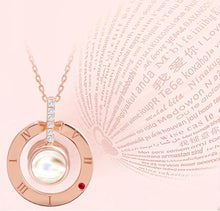 "Load image into Gallery viewer, I LOVE YOU"" Necklace"