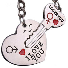 Load image into Gallery viewer, I Love You Couple Keyring