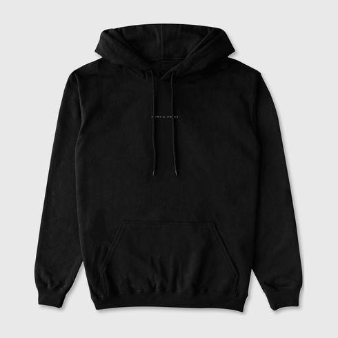 Alpha Omega Hoodie - FIRST EDIFICE