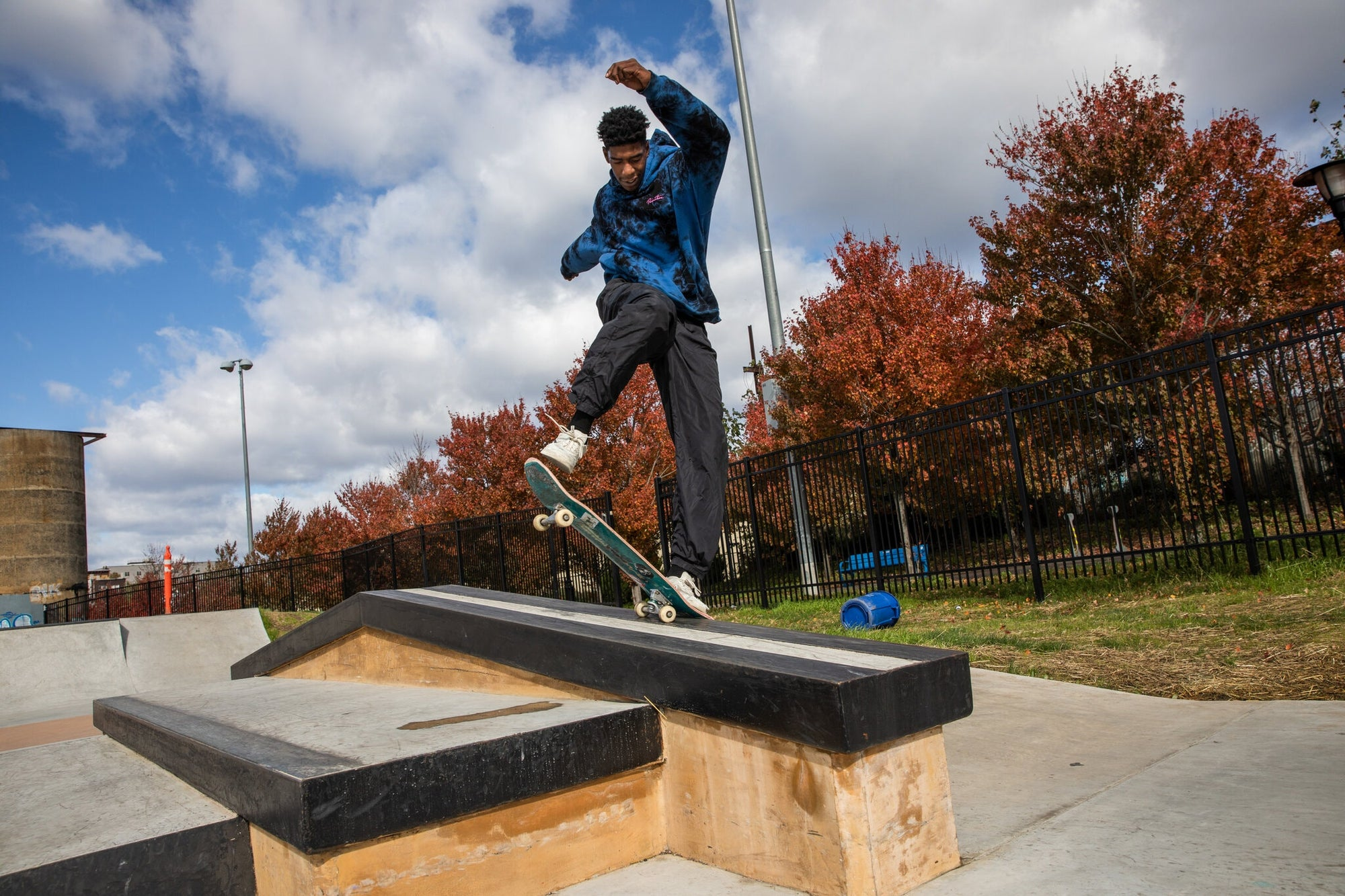 Xavier Harris uses skateboarding to fight depression growing up! Shares his story with the NY Times
