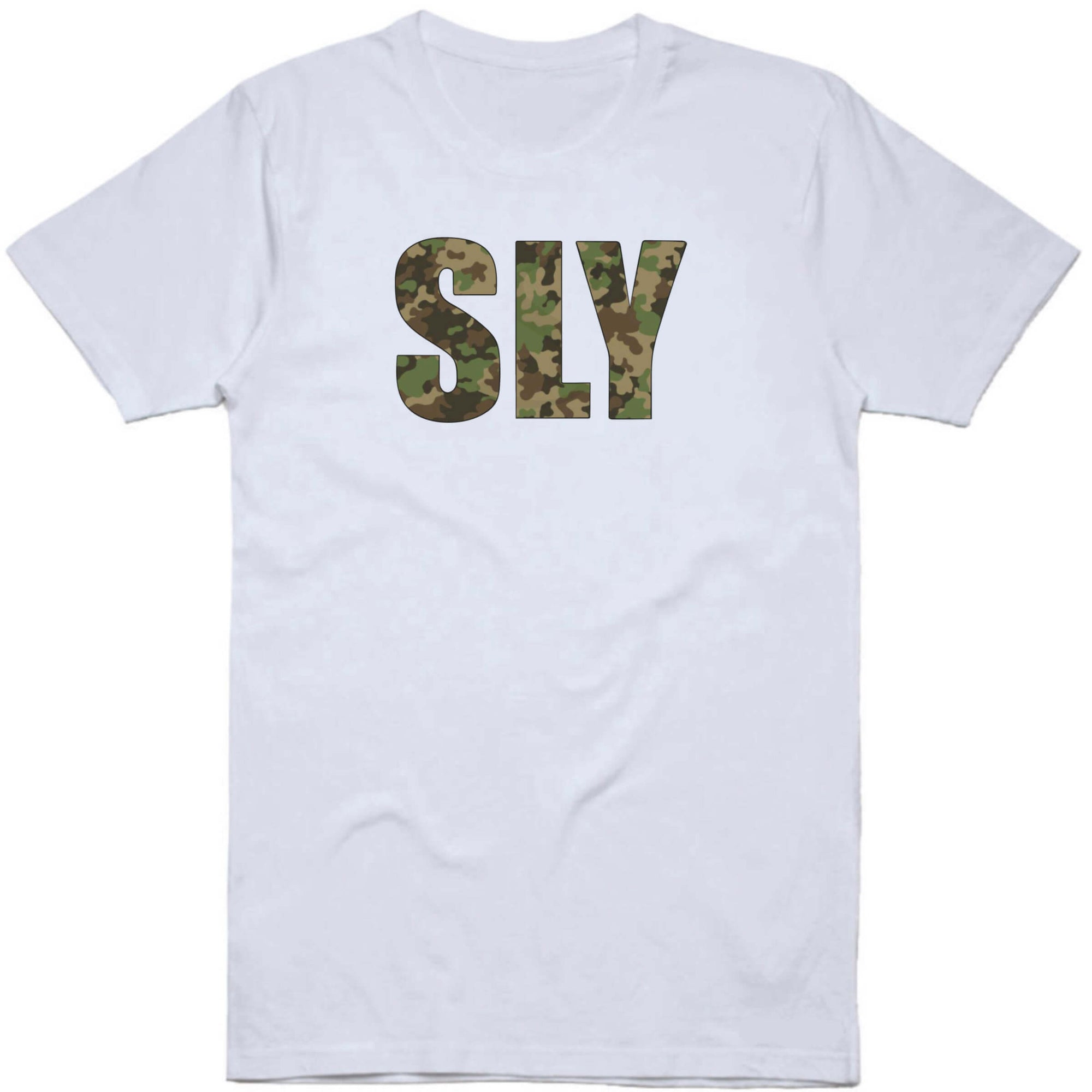 SLY Camouflage Logo T-Shirt (Wholesale)