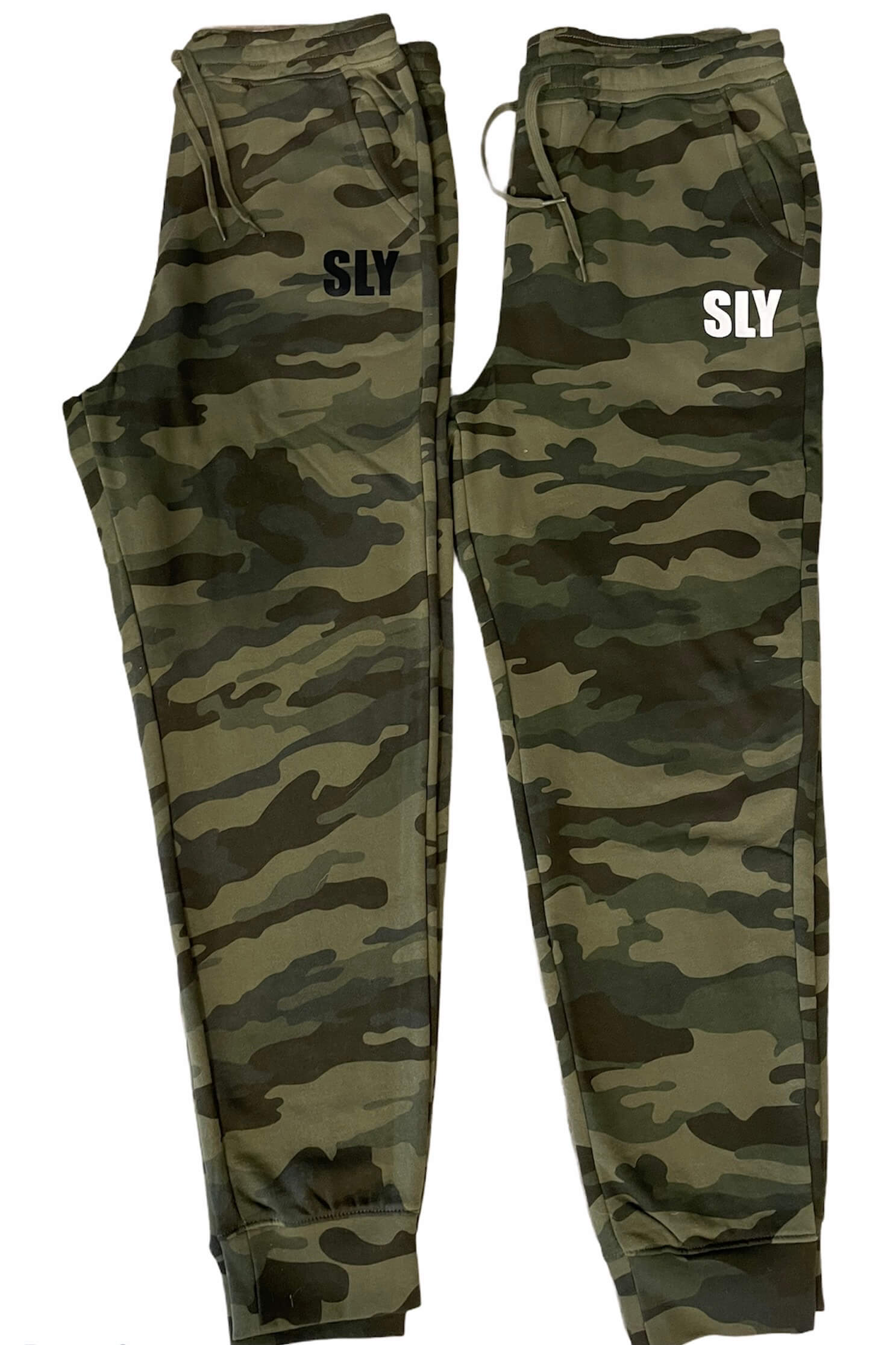SLY Camo Sweatpants.