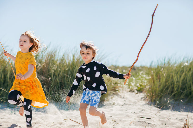 Organic cotton sustainable clothes for children