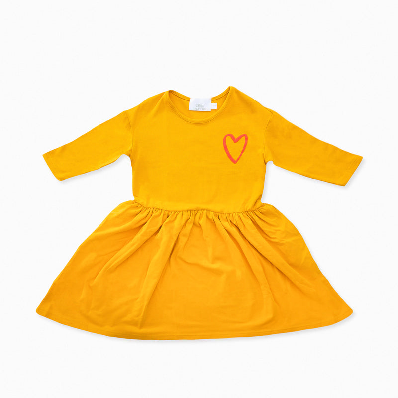Organic cotton dress sustainable clothes for children