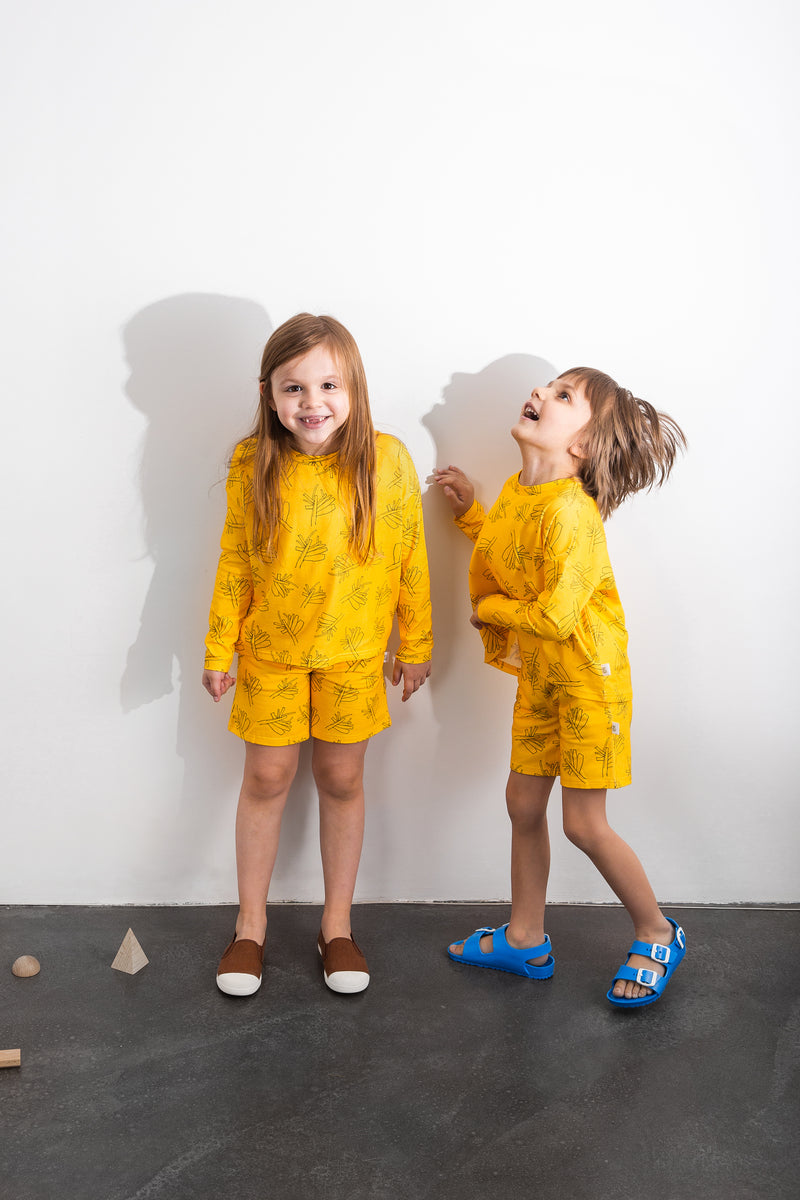 GOTS Organic cotton shorts sustainable kids fashion