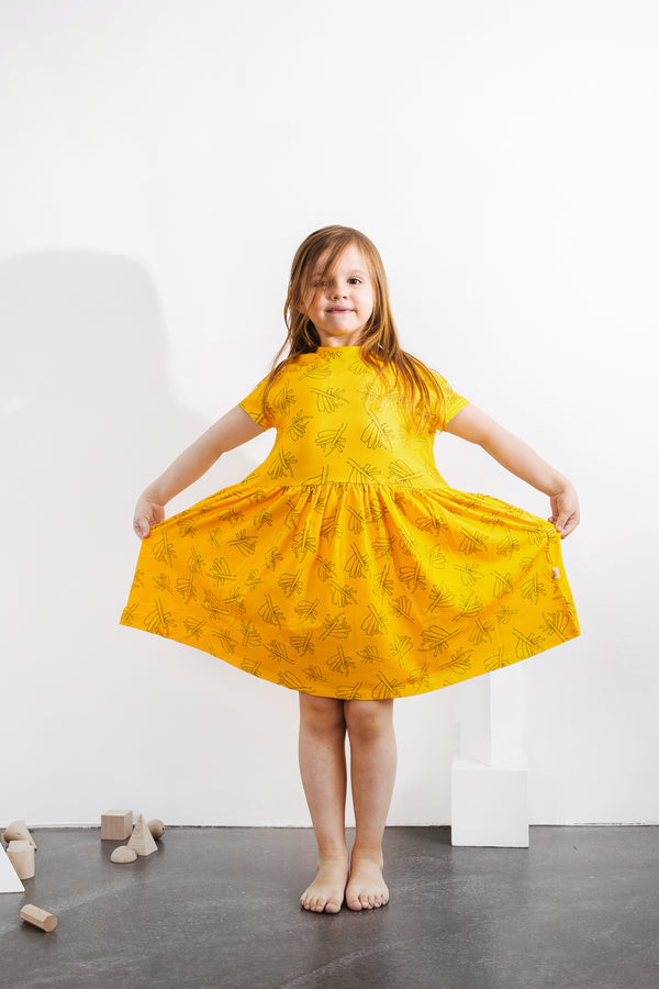GOTS Organic cotton dress sustainable kids fashion