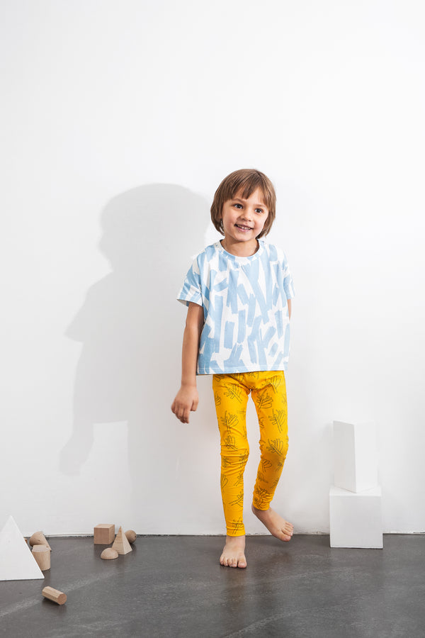 GOTS Organic cotton leggings sustainable kids fashion