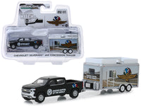"Chevrolet Silverado Pickup Truck and Concession Trailer ""Indianapolis Motor Speedway"" ""Hitch & Tow"" ""Hobby Exclusive"" 1/64 Diecast Model Car by Greenlight"