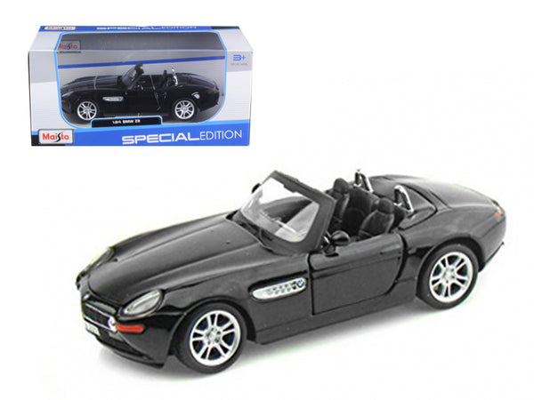 BMW Z8 Diecast Car Model 1/24 Black Die Cast Car Model by Maisto