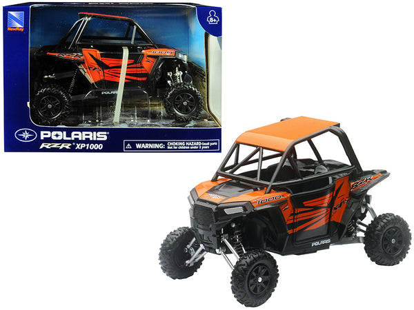 Polaris RZR XP1000 ATV Orange 1/18 Model by New Ray