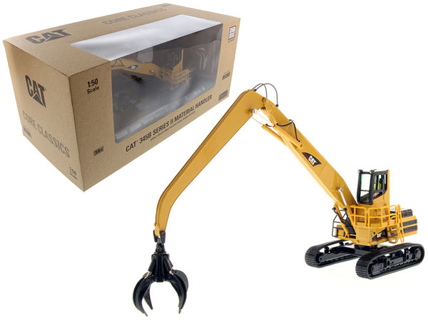 "Caterpillar 345B Series II Material Handler with Operator and Tools ""Core Classic Series"" 1/50 Diecast Model by Diecast Masters"