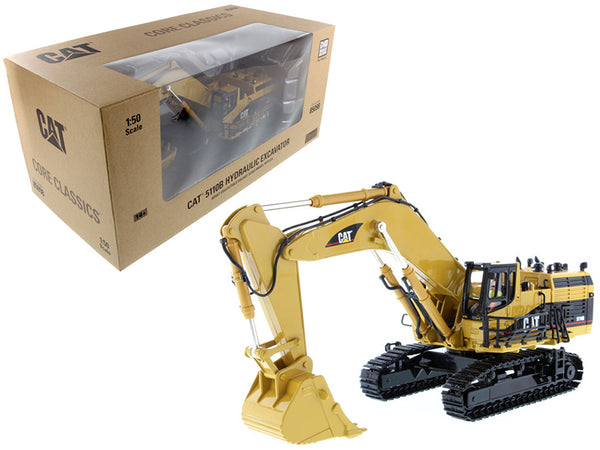 "Caterpillar 5110B Excavator with Operator ""Core Classics Series"" 1/50 Diecast Model by Diecast Masters"