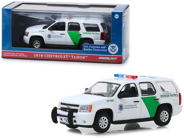 "2010 Chevrolet Tahoe ""U.S. Customs and Border Protection"" Border Patrol 1/43 Diecast Model Car by Greenlight"