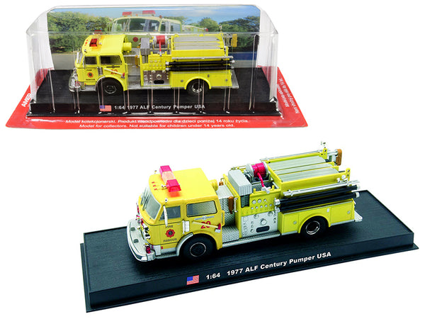 1977 American LaFrance (ALF) Century Pumper Fire Rescue Engine (Miami-Dade, Florida) 1/64 Diecast Model by Amercom