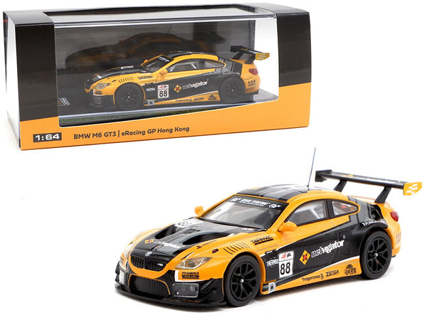 BMW M6 GT3 #88 eRacing Grand Prix Hong Kong Season 1 1/64 Diecast Model Car by Tarmac Works
