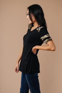 Armed & Dangerous Tee In Black