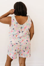 Load image into Gallery viewer, Confetti Leopard Print Tank In Taupe