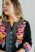 Load image into Gallery viewer, Flowers & Bells Embroidered Blouse