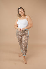Load image into Gallery viewer, Mint Leopard Joggers