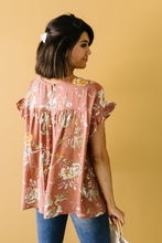 Load image into Gallery viewer, Apricot Blossoms Blouse