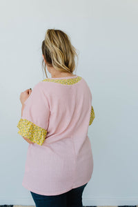 Briar Rose Waffle Knit Top