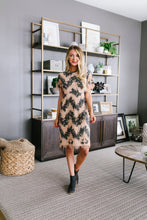 Load image into Gallery viewer, Chevron Lace Dress