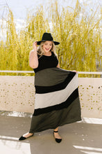Load image into Gallery viewer, Chevron Skirt Tank Maxi Dress