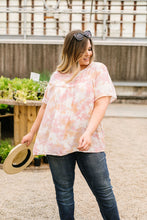 Load image into Gallery viewer, Coral & Blush Watercolor Blouse