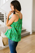 Load image into Gallery viewer, Ditzy Floral Tank In Green