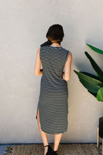 Load image into Gallery viewer, Fair Weather Striped Midi Dress