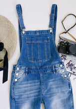 Load image into Gallery viewer, Under Siege Overalls In Medium Wash