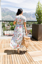 Load image into Gallery viewer, Floral Faux Wrap Maxi